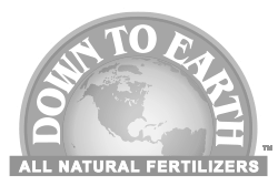 Down To Earth All Natural Fertilizers